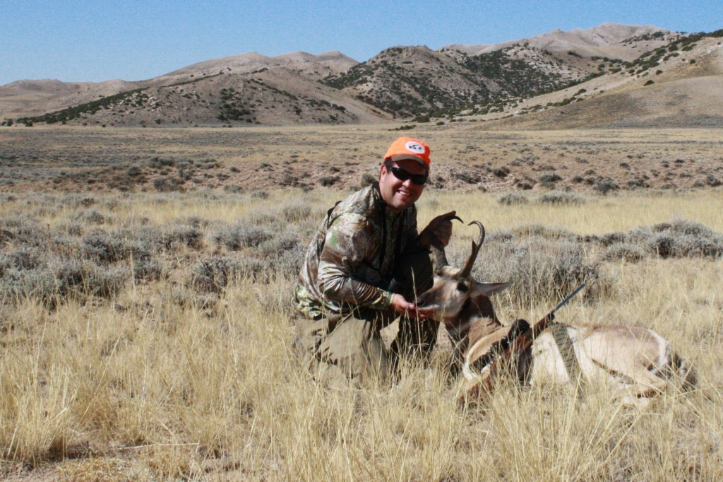Ryan Crosby with his 2010 Buck